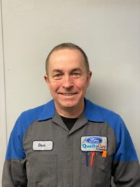 Dave O'Connor : Technicien principal