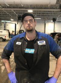Shawn Harrison : Technicien